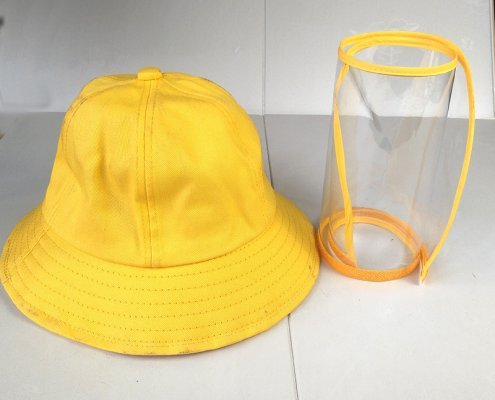 bucket hat with face shield for kids 13481085387 2045698582 1