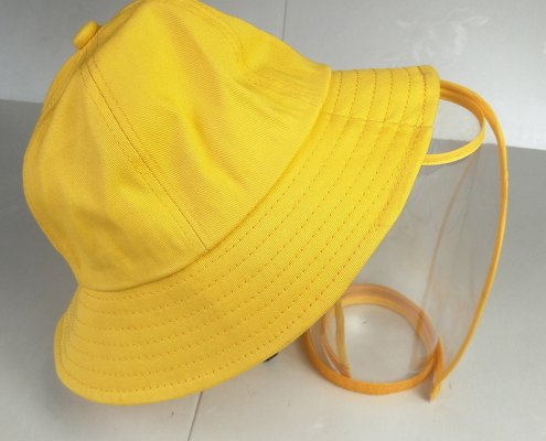 bucket hat with face shield for kids 13564760760 2045698582