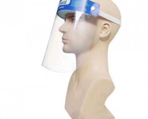 safety face shield clear face shield