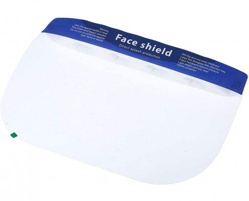 protective face shield clear face shield