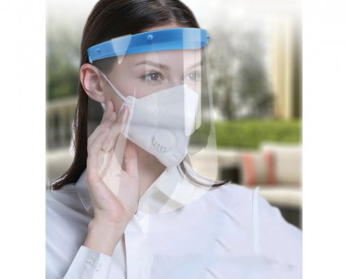 dental hygienist face shield dental face mask with shield