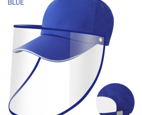 baseball cap with face shield for sale