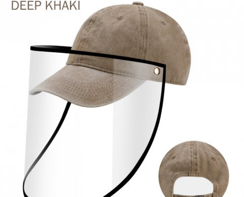 baseball cap with face shield wholesale supplier