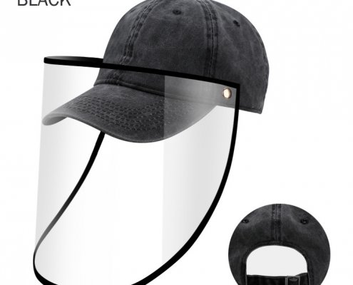 baseball hat with face shield wholesale supplier