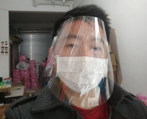 clear face shield for sale plastic face mask