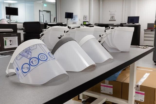 face shield factory