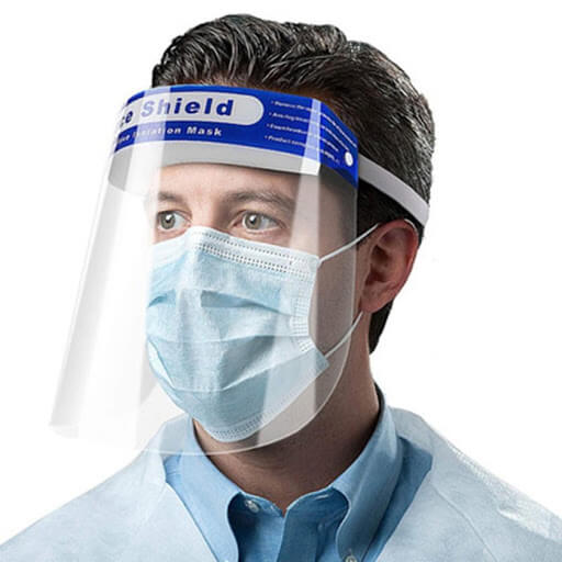 clear face shield supplier