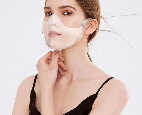clear face shield for mouth wholesale