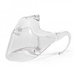 clear face shield for mouth