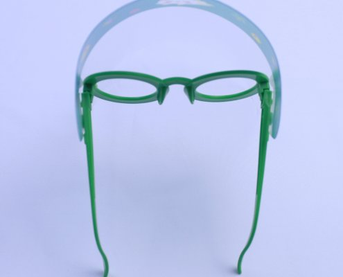 Goggles with face shield for child supplier