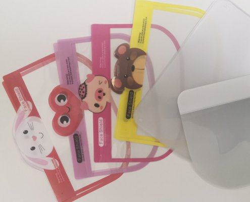 Safety google with face shield for kids
